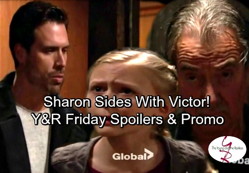 The Young and the Restless Spoilers: Nick Bans Victor From Faith and Christian – Sharon Feels Sorry for Victor