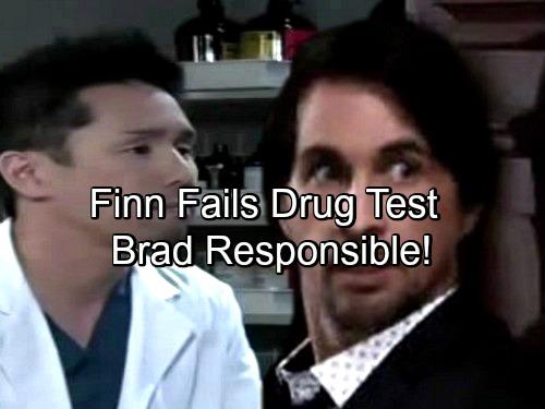 General Hospital Spoilers: Finn Drug Test Shocker – Brad Schemes, Changes Test Results