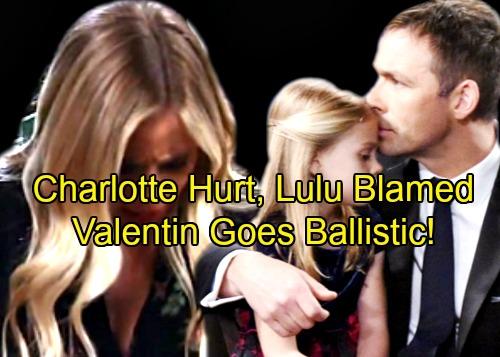 General Hospital Spoilers: Charlotte Hurt In Accident, Lulu Blamed - Custody Dreams Shattered as Valentin Hits Hard