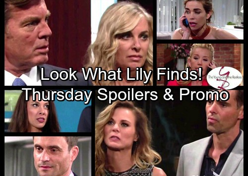The Young and the Restless Spoilers: Thursday, April 27 - Victor Blunders – Lily's Horror Discovery – Billy's Lies