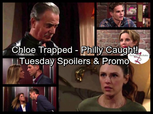The Young and the Restless Spoilers: Victor Stuns Chloe With Shocking Demand – Victoria Catches Phyllis and Billy
