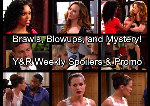 The Young and the Restless Spoilers: Jordan and Chelsea Cuddle Up - Mariah and Hilary's Bloody Brawl – Ashley Blows Up