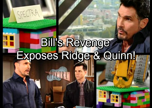 The Bold and the Beautiful Spoilers: Bill Fumes Over Ruined Business Plans, Targets Forresters – Reveals Ridge and Quinn Secret