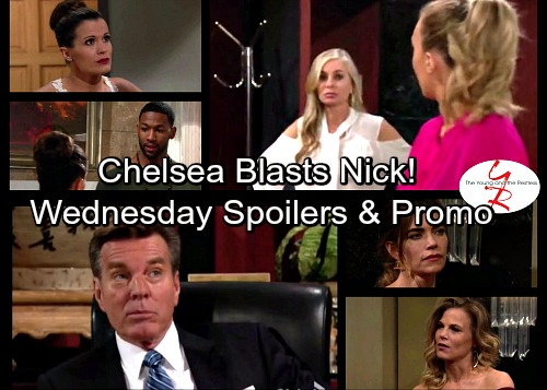The Young and the Restless Spoilers: Chelsea Blasts Nick Over Chloe – Victoria Butters Up Billy – Ashley Grills Victor Over Scott