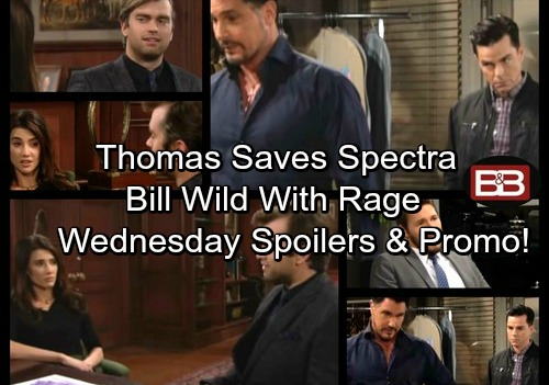 The Bold and the Beautiful Spoilers: Thomas Saves Sally's Dream – Wyatt Warns Liam of Bill's Fury