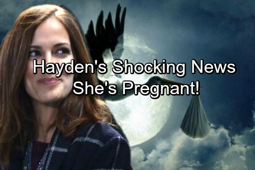 General Hospital Spoilers: Hayden Pregnant - Struggles To Tell Finn He's The Father