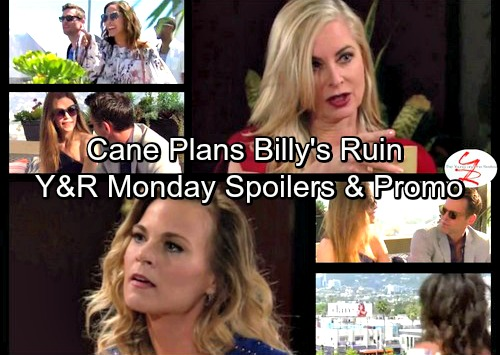 The Young and the Restless Spoilers: Cane Plots Billy's Downfall - Dina and Ashley Shocking Encounter – Lily Warns Hilary