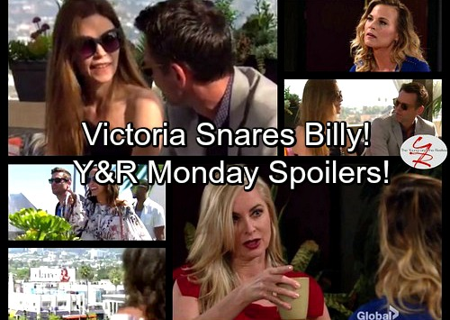 The Young and the Restless Spoilers: Victoria Traps Billy In Her Web - Ashley and Phyllis Face Off - Lily's Thrill of a Lifetime