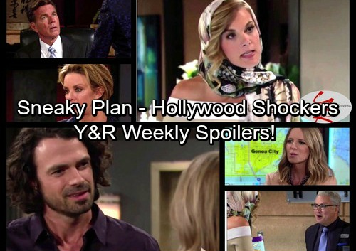 The Young and the Restless Spoilers: Week of May 15 – Fierce Faceoffs, Sneaky Plans and Hollywood Shockers