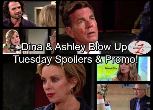 The Young and the Restless Spoilers: Phyllis Crashes Hollywood Trip – Gloria Lashes Out at Jack – Dina Infuriates Ashley