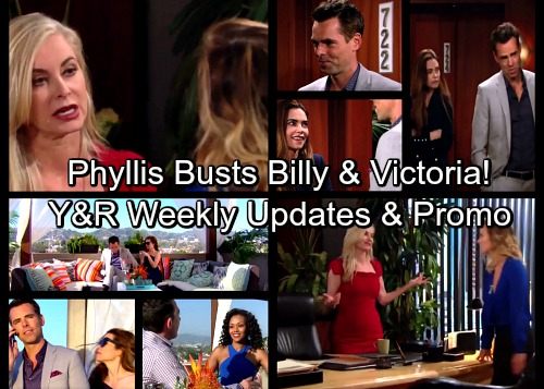 The Young and the Restless Spoilers: Phyllis Catches Billy in Compromising Situation – Rages Over Cheating With Victoria