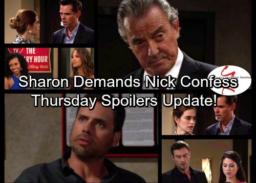 The Young and the Restless Spoilers: Cane's Move Burns Billy, Blows Hockey Deal – Sharon Demands the Truth from Nick