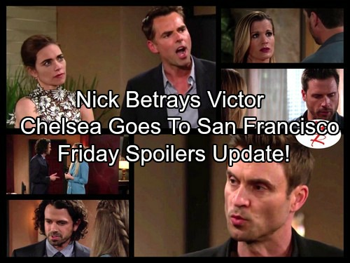 The Young and the Restless Spoilers: Nick Tells a Dangerous Lie – Cane Deals with Blackmail – Victoria Finds Phyllis with Billy