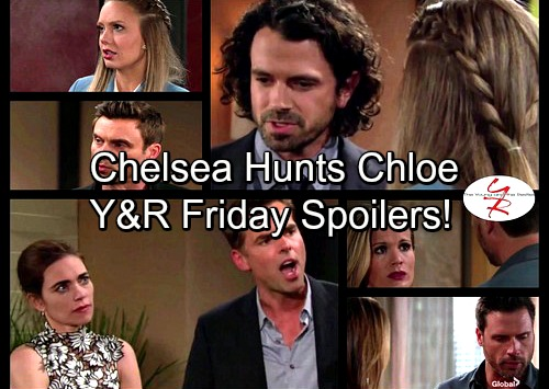 The Young and the Restless Spoilers: Nick Urges Chelsea to Find Chloe – Cane's Evil Returns To Bite Him – Scott and Abby Spar