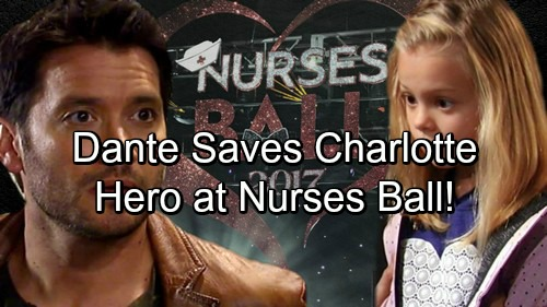 General Hospital Spoilers: Dante the Hero At Shocking Nurses' Disaster – Saves Charlotte, Thwarts Helena