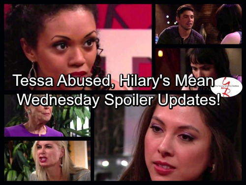 The Young and the Restless Spoilers: Noah Fears Tessa Was Abused – Teen Charlie Steals Reed's Girlfriend – Juliet Warns Hilary