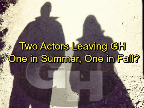 General Hospital Spoilers: Cast Cuts in the Works – Two Actors Out at GH