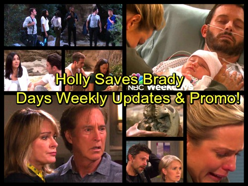 Days of Our Lives Spoilers: JJ and Lani Discover a Skull, Island Gang Great Danger – Nicole and Holly Spark Miracle for Brady
