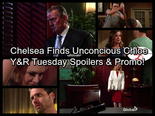 The Young and the Restless Spoilers: Chelsea Stunned, Unconscious Chloe Overdosed On Floor – Dr. Harris Confesses to Nick