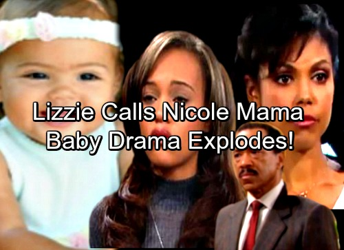 The Bold and the Beautiful Spoilers: Lizzie Calls Nicole 'Mama' - Avants Choose Sides as Baby Drama Explodes