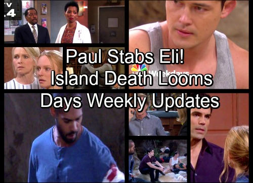 Days of Our Lives Spoilers: Paul Stabs Eli, Island Gang Fears He'll Kill Them All – Dark Cloud of Death Hangs Over Salem