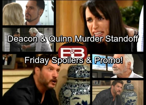 The Bold and the Beautiful Spoilers: Deacon Desperate to Avoid Jail Time, Threatens Quinn - Sheila Arrest Mistake Proves Costly