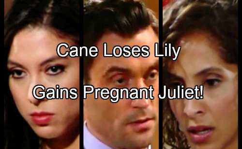 The Young and the Restless Spoilers: Cane Loses Lily But Gains A Pregnant Juliet – Jane Replaces Lane