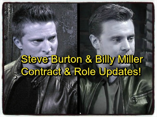 General Hospital Spoilers: Steve Burton and Billy Miller News Update - Casting, Roles, and Contract Status