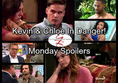 The Young and the Restless Spoilers: Monday, July 3 - Kevin and Chloe Try To Escape Dr Harris – Jordan Wants Hilary