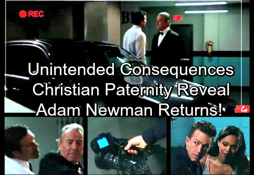 The Young and the Restless Spoilers: Nick's Sabotage Has Consequences – Christian's Paternity Revealed and Adam Newman Returns