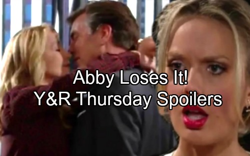 The Young and the Restless Spoilers: Thursday, July 20 - Jack and Nikki's Kiss Infuriates Abby – Victor Wants Nick To Suffer