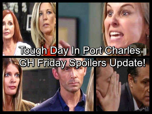 General Hospital Spoilers: Friday, July 21 Updates – Sam Seethes Over Sonny's Move – Josslyn Suspicious – Valentin Faces Laura