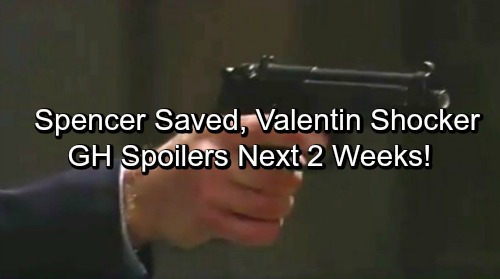 General Hospital Spoilers for Next 2 Weeks: Spencer Rescued – Sonny Critically Wounded – Carly Saves Liz - Valentin Shocker