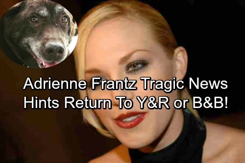 The Bold and the Beautiful Spoilers: Adrienne Frantz Hints Return to B&B or Y&R – Shares Devastating News Mere Hours Later