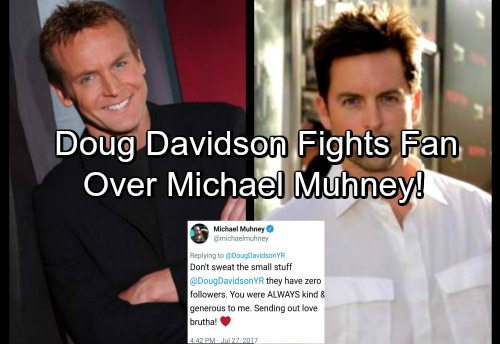 The Young and the Restless Spoilers: Doug Davidson Fights with Fan Over Michael Muhney
