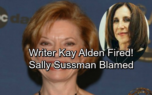 The Young and the Restless Spoilers: Y&R Icon Kay Alden Fired - Sally Sussman Pushes Out Writing Legend In Shock Power Grab