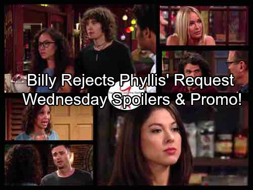 The Young and the Restless Spoilers: Wednesday, Aug. 2 - Lily Delivers a Devastating Blow – Billy Won't Back Down For Phyllis