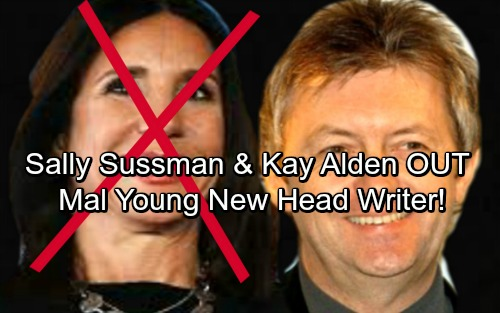 The Young and the Restless Spoilers: Sally Sussman and Kay Alden Forced Out - Mal Young Takes Over as Y&R's New Head Writer