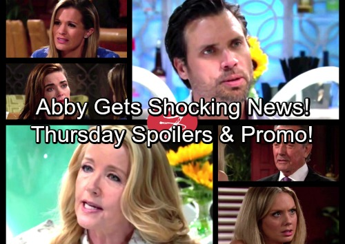 The Young and the Restless Spoilers: Thursday, August 3 - Nikki's Jack Plan Riles Nick – Victor Gives Abby Shocking News