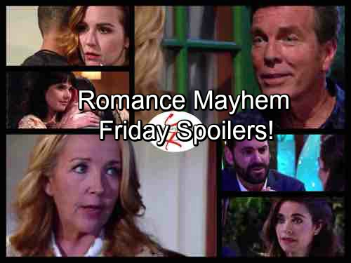 The Young and the Restless Spoilers: Friday, August 4 - Mariah and Tessa Struggle with Kiss Aftermath – Victoria's New Romance