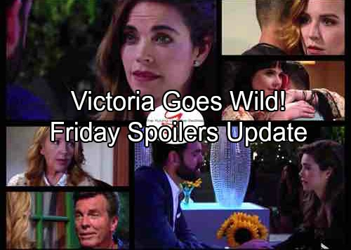 The Young and the Restless Spoilers: Friday, August 3 - Mariah and Tessa Keep Kiss Secret – Victoria's Hot Hookup