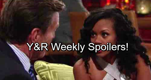 The Young and the Restless Spoilers: Week of August 7 – Sneaky Plans, Heated Showdowns and Dirty Deals