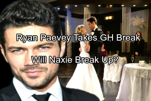 General Hospital Spoilers: Ryan Paevey On Break From GH – What Does This Mean for Nathan and Maxie?