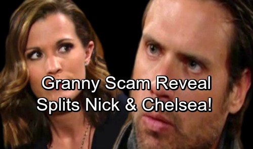 The Young and the Restless Spoilers: Chelsea's Granny Scams Revealed, Judgmental Nick Freaks – Adam Newman Return Setup