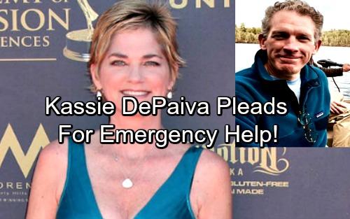 Soap Star Kassie DePaiva Asks For Emergency Help