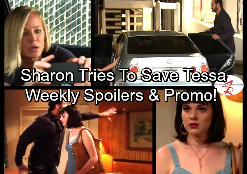 The Young and the Restless Spoilers: Week of August 22 - Tessa's In Danger, Sharon's Shocking Discovery - Billy Secures Ammo