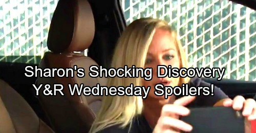 The Young and the Restless Spoilers: Wednesday, August 23 - Sharon Films Shocking Discovery - Hilary Fumes Over Breakup