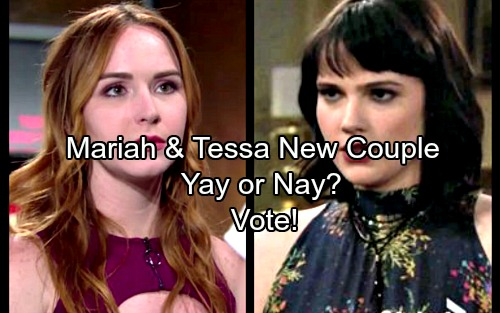 The Young and the Restless Spoilers: Are You Happy With Mariah and Tessa As A New Y&R Couple?