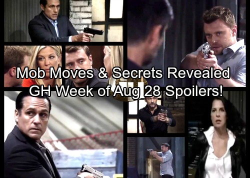General Hospital Spoilers: Week of August 28 – Bold Moves, Mob Danger and Mysteries Revealed