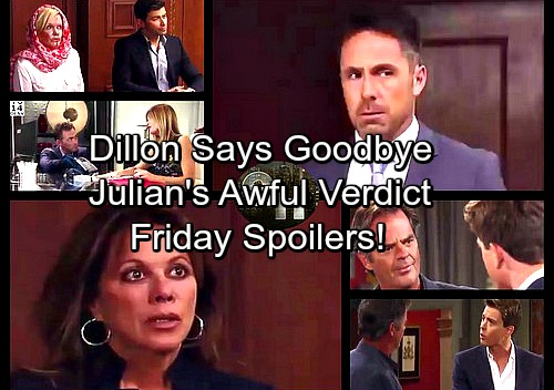 General Hospital Spoilers: Friday, August 25 – Lulu Surprises Dante – Dillon Says Goodbye – Michael Blasts Ned – Julian's Verdict